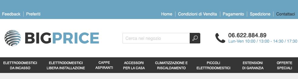 Offerte da Bigprice in Elettrodomestici-da-Incasso- | Negozi eBay