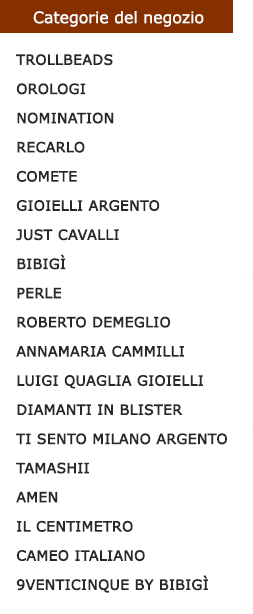 Elenco categorie ITA