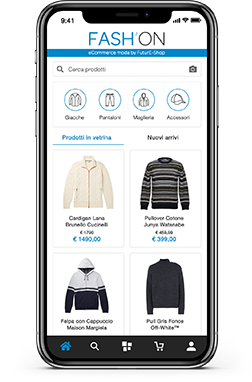 Homepage PrestaShop App